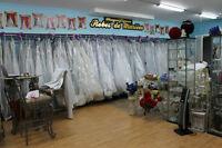 robes de mariée toute grandeur...prix d entrepot.belle valeur