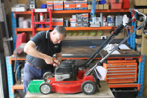 LAWNMOWER  SERVICE AND REPAIR