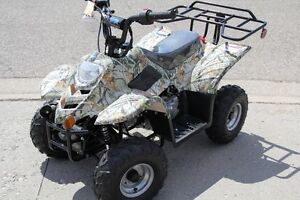 NEW 110cc Youth ATV's. 6 mo WARR. WE PAY THE TAXES! LARGE AVAIL