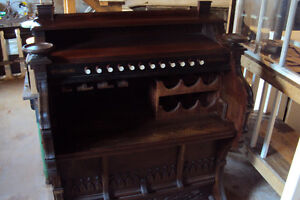ANTIQUE PUMP ORGAN BAR   - REDUCED