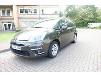 2012 Citroen C4 Picasso 1.6HDi Exclusive 7 seats Left hand drive lhd Spanish Reg