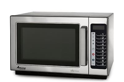 Amana Rcs10ts 1000w Commercial Stainless Microwave Oven Medium Volume