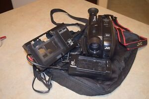 JVC/VHS Movie Camera/Hardly used c/w all adapters