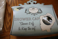 Shower Cap-never used