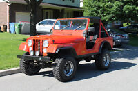 Antique Jeep CJ5