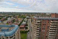 COTE ST LUC PENTHOUSE CONDO 2B/2B GARAGE AMAZING VIEWS POOL GYM