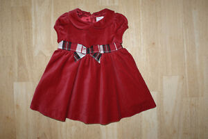 Gymboree & Gap Holiday/Formal Occasion Dresses, size 3-6 months