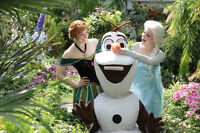 PRINCESS ANNA, ELSA AND OLAF- FROZEN BIRTHDAY  PARTY