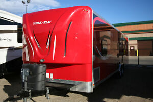 2013 FOREST RIVER WORK&PLAY 30WLA TOY HAULER