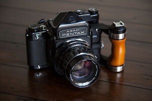 Pentax 6x7 Medium Format Camera System with Lenses