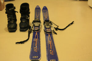 Backcountry telemark skis, boots & skins