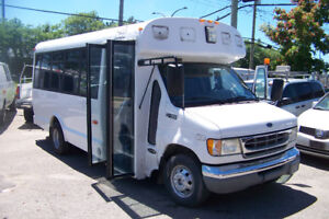 2002 FORD E-450 16 PASSAGER DIESEL 7,3L