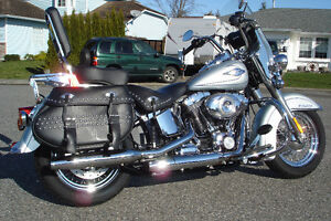 2011 HARLEY HERITAGE SOFTAIL REDUCED PRICE $16,900