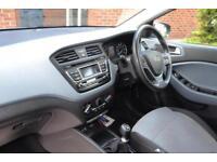2015 Hyundai i20 1.2 Blue Drive SE (84ps) Petrol blue Manual
