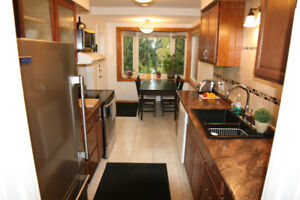 Furnished Burlington main floor of house in PERFECT location.