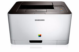 Samsung Electronics CLP-365W Wireless Color Printer NO TONER ONLY PRINTER WORKING