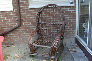 Handcrafted Willow Porch Chair Belleville Belleville Area image 1