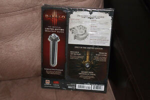 Diablo 3 Limited Edition Strategy Guide With Metal Bookmark West Island Greater Montréal image 2