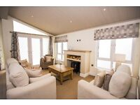 Seaside Luxury Lodge for sale at Camber Sands Holiday Park, 12 months, pet friendly, near New Romney