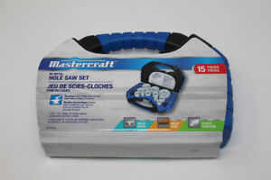 Mastercraft 15 piece Bi-Metal Hole Saw Set