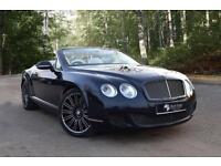 2011 BENTLEY CONTINENTAL 6.0 GTC SPEED 2D AUTO 600 BHP