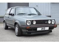VW VOLKSWAGEN GOLF GTI MK2 1.8 8V 1986 TYPE 19 3DR JADE GREEN