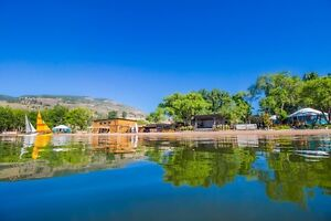 Barefoot Beach Resort Penticton - Pet Friendly - Private Beach