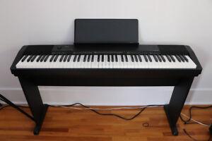 Casio 88-Key Digital Piano with Stand (135CS) - Black