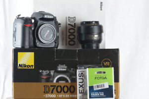 Nikon D7000 + 35mm 1.8G Lens and Filters