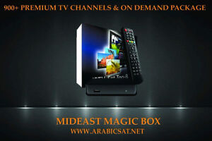 MidEast Magic Box with On Demand Pack