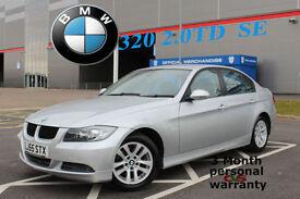 2005 BMW 320 2.0TD SE SILVER DIESEL CAR