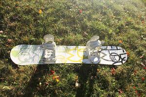 Snow Board With Bindings