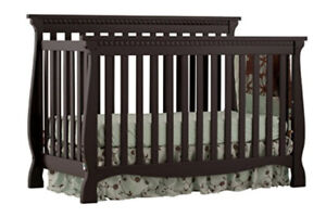 Crib and mattress for sale, lightly used!