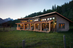Stunning, Architecturally Designed Home On Acreage, Fernie BC