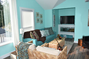Brand new, fully furnished carriage house suite for rent.