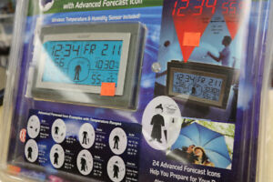 **PREPARE THE DAY** Wireless Projection Weather Station, 908237