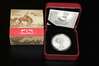STAMPEDE CANADA SILVER COIN TRADES LAMP SIGNED LIGHT