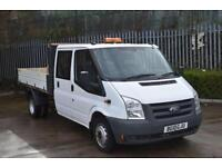 2.4 T350 RWD 4D 115 BHP DOUBLE CAB TWIN WHEEL COMBI TIPPER VAN 2010