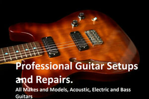 Professional Guitar Repairs, Setups, Upgrades, and Mods