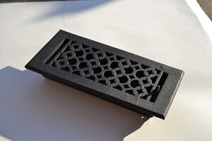 Floor Registers, Air Grills, Cast Iron, Cast Aluminum, Brass