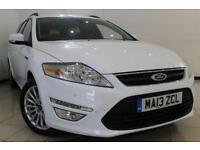 2013 13 FORD MONDEO 2.0 ZETEC BUSINESS EDITION TDCI 5DR AUTOMATIC 161 BHP DIESEL