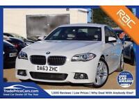 2014 63 BMW 5 SERIES 2.0 520D M SPORT 4D AUTO 181 BHP DIESEL
