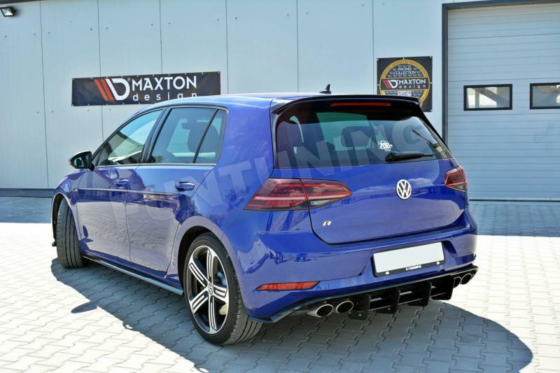 vw golf 7 r nach facelift heckansatz heck diffusor cup dtm golf vii r line flaps ebay. Black Bedroom Furniture Sets. Home Design Ideas