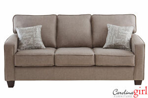 Brand NEW JITTERBUG TAUPE SOFA! Call 705-524-0354!