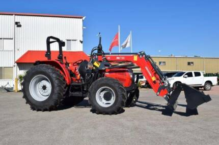 McCormick A-Max 90 with loader and Bucket
