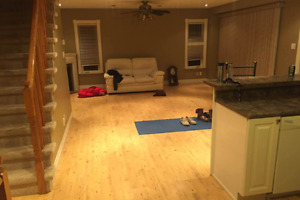 Separate unit rent with bedrooms, living room, kitchen, Bath....