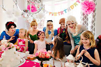 Professional PRINCESS/CHARACTER Birthday Party Entertainment