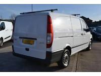 2014 Mercedes benz Vito 113CDI Long 136 bhp Van 5 door Panel Van