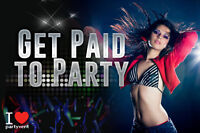 Promoteur\ promotrice\ Party\ Nightclub