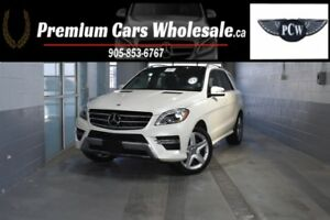2014 Mercedes-Benz M-Class ML350 BLUE TEC AMG 4MATIC NAVI BACK U